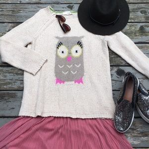 HP🍉 Rewind}• owl sweater knit
